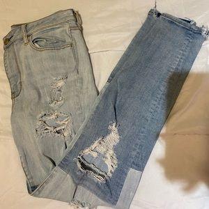 American Eagle multi denim jeans